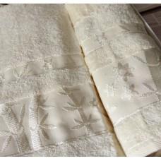 Полотенце бамбуковое / молочный