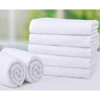 Белое махровое полотенце 530