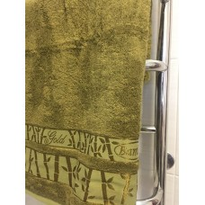 Полотенце бамбуковое темно/оливковый